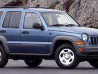 Recent Arrival! 4WD. Red 2006 Jeep Liberty Sport 4WD