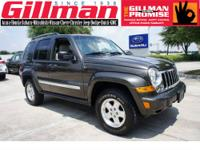 JEEP USED LIBERTY CRD LIMITED 4X4 DIESEL SUV WITH