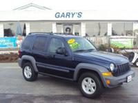 **4WD SUV** **SUPER LOW MILES** Our Location is: Gary's