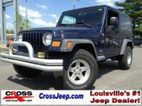 Local Jeep Trade.. UNLIMITED.. HARD Top.. AUTO