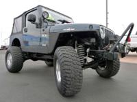 2006 WRANGLER 4X4 USED LIFTED JEEP FOR SALE FEATURING A