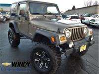 Options:  2006 Jeep Wrangler Rubicon|We Offer Financing