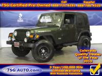 **** JUST IN FOLKS! THIS 2006 JEEP WRANGLER RUBICON HAS