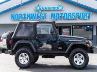 Clean Carfax 6 Speed 4x4 SUV with Lightbar!  Options: