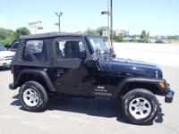 Options Included: N/ANICE CLEAN JEEP! 4CYL MANUAL