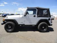 Options Included: Cloth Seats, Easy Folding Soft Top,