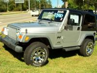 Options Included: N/AThis Jeep Wrangler Sport is