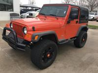 We are excited to offer this 2006 Jeep Wrangler. How to