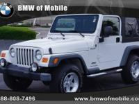 BMW of Mobile presents this 2006 JEEP WRANGLER 2DR