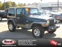 Local Trade In 2006 Jeep Wrangler 4x4! Guaranteed Clean