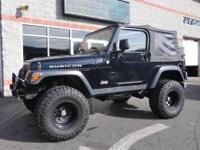 Lifted Rubicon! A must-see 2006 Jeep Wrangler offering