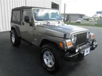 WRANGLER UNLIMITED: 4WD!..4.0L V6-AUTOMATIC-ALLOY