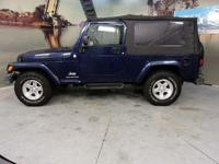 2006 Jeep Wrangler CARS HAVE A 150 POINT INSP, OIL