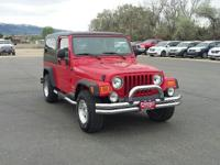 ONLY 51,958 Miles! Aluminum Wheels, 4x4, CD Player, 24E