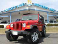 2006 Jeep Wrangler Unlimited 4WD with powerful L6, 4.0