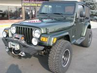 2006 Jeep Wrangler X 4x4 with only 63 K miles!! Low