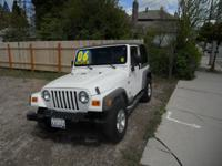 Options Included: N/ASuper clean 4x4 Wrangler X Sport