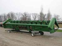 2006 John Deere 1293 with regular rolls, hyd deck