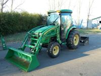 2006 John Deere 4320 MFWD Tractor with Heat and Air