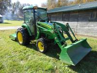 = PRICE REDUCED $12,900 US = 2006 John Deere 4520 Cab