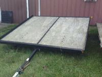 Year: 2006 Condition: Used 2 PLACE SNOWMOBILE TRAILER