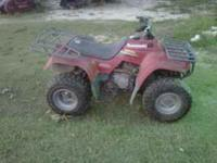 I have a Kawasaki Bayou 250 4 wheeler for sale. It runs