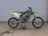 2006 Kawasaki KX450F is really clean and just had a