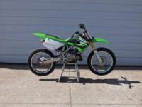 2006 Kawasaki KX 85 is all set up for flat track!!!!