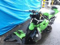 2006 kawasaki ninja zx-10r with 20.000 miles, salvage