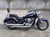 I currently have a 2006 Kawasaki Vulcan 900 Classic for