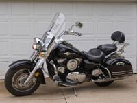 2006 Vulcan Nomad 1600 Black with a nice balance of
