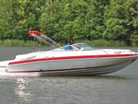 SUPER MINT 2006 Kayot S 225 edition deck boat. This one