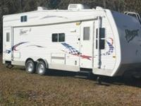 GREAT TRAILER! Super slide, rear swivel rockers, front