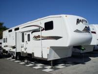 Description MUST SEE2006 Raptor toy hauler in excellent