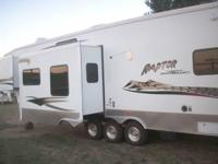 2006 Keystone Raptor M3712TS. Fuel station and 5k