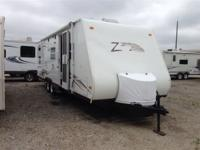 2006 Keystone Zeppelin Z11 M291 Front queen rear queen