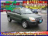 This 2006 Kia Sportage is a value leader among small