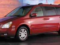 Options:  2006 Kia Sedona|/|V6 3.8L Automatic|177523