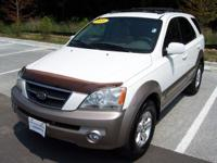 Options Included: N/AThis 2006 Kia Sorento is offered