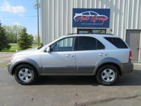 Our great 2006 Sorento EX comes with all the comforts