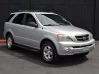 This 2006 Kia Sorento 4dr LX 4WD features a 3.5L V6
