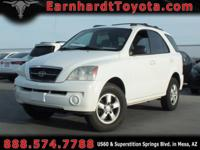 We are happy to offer you this 2006 Kia Sorento LX