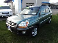 You are checking out a 2006 Kia Sportage EX that is in