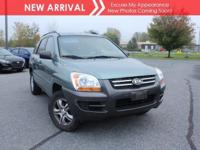 New arrival! 2006 Kia Sportage! Only 60,919 miles! This