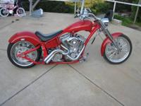 2006 Kraft Tech Custom S&S Chopper. Brand new S&S
