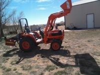 40 original hours and ready for work 2006 Kubota B7800