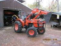 2006 Kubota M4800 With Front End Loader! Only 414
