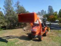 2006 Kubota Tractor, Model # BX2350 4x4 Diesel, 23 HP,