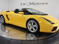 This 2006 model Gallardo Spyder is a great deal and has