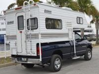 Lance Lite 815 truck camper in great condition.